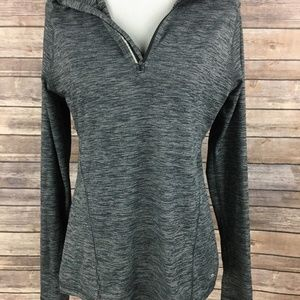 Champion womens long sleeve DUO DRY athletic Gray